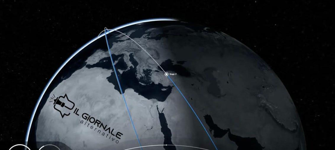 Satelliti SpaceX Starlink in orbita 29 gennaio 2020