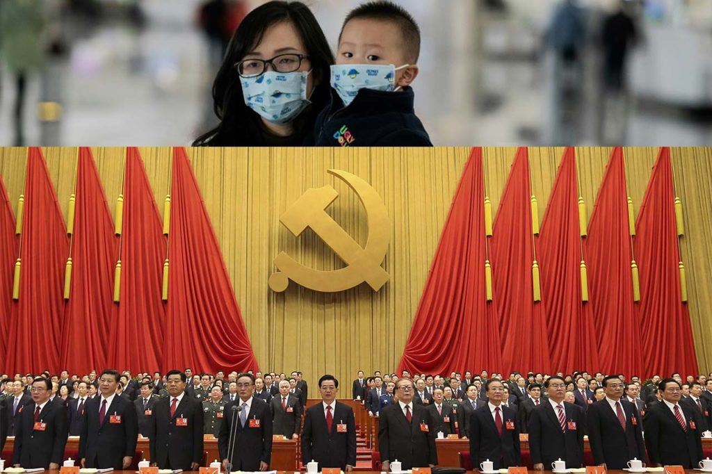 Governo cinese sul coronavirus: pena di morte per chi nasconde i sintomi