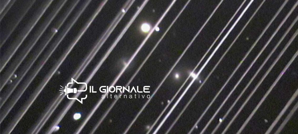 L'Inquinamento luminoso nello spazio prodotto dal progetto Starlink
