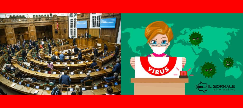 coronavirus in danimarca, approvata legge liberticida all'unanimità