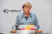 Angela Merkel dichiara che il coronavirus in Germania contagerà il 60-70% della popolazione