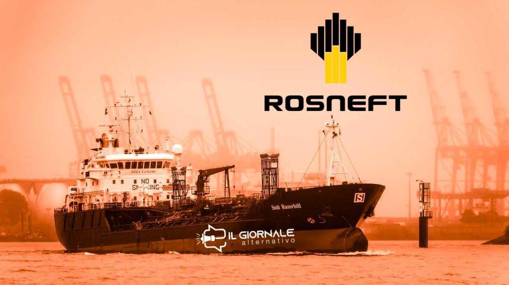 """Rosneft aiuta PDVSA ad aggirare le sanzioni USA sulla questione """"venezuela petrolio"""""""
