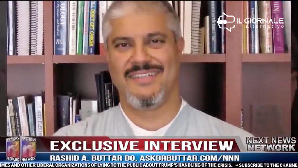 Rashid Buttar nell'intervista su COVID19 ha scatenato la macchina del fango su di sè.