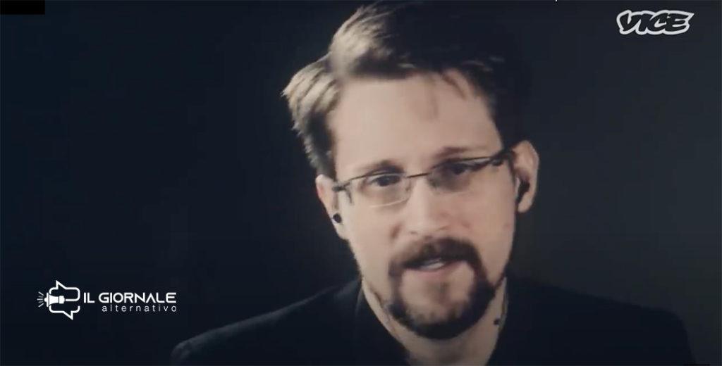 Edward Snowden intervistato su VICE TV parla di coronavirus