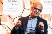 Satya Nadella World Economic Forum