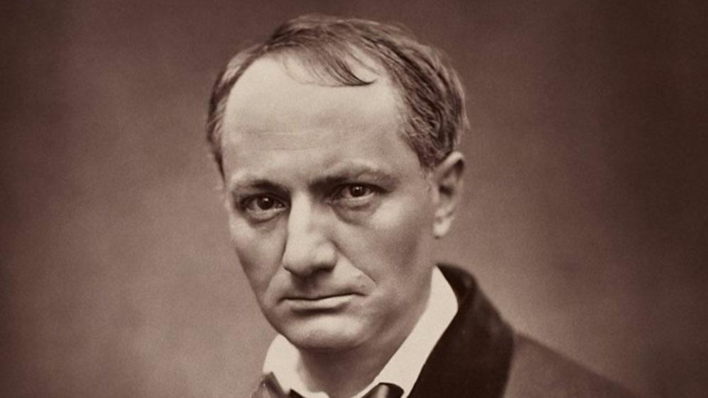La foto di Charles Baudelaire