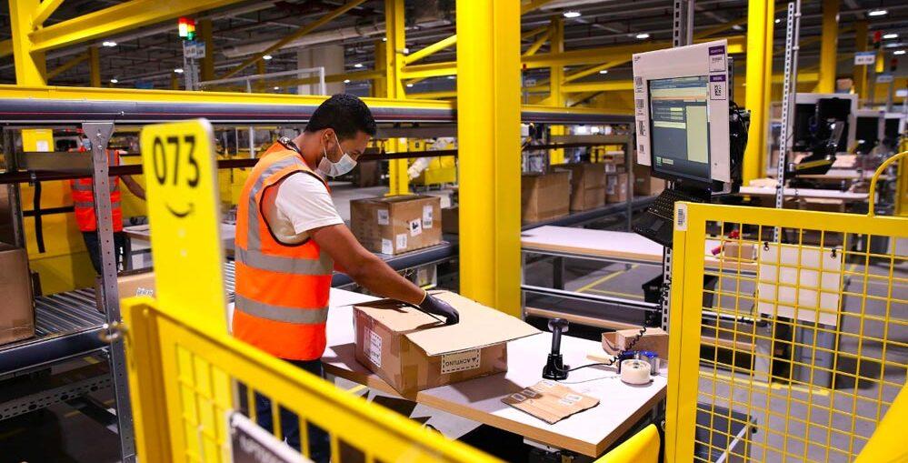 Lavoratori Amazon negli Stati Uniti