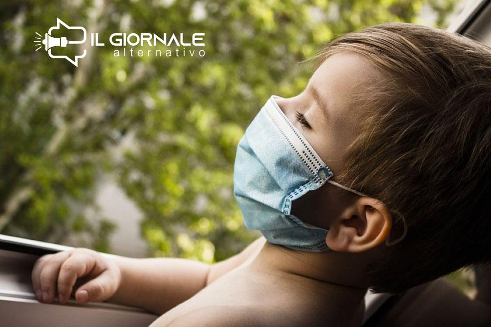 Distanziamento sociale e mascherina, gli effetti negativi sui bambini